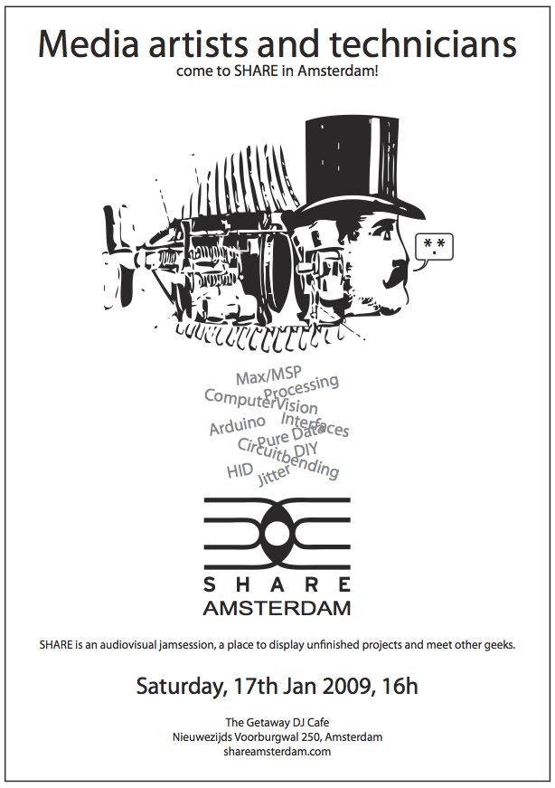 share amsterdam web flyer